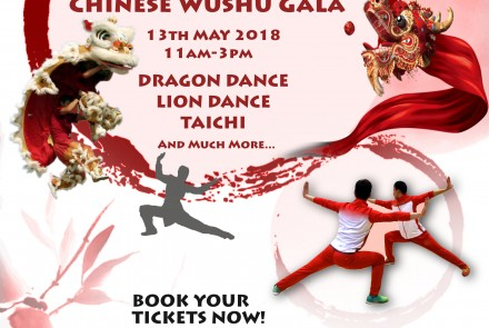 Chinese Traditional Arts Festival and Chinese Martial Arts Gala 2018